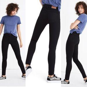 Madewell roadtripper skinny jeans faded black